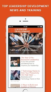 Leadership Development- screenshot thumbnail