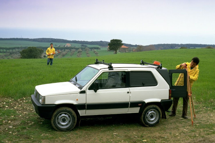 The Fiat Panda 4x4 was the first city slicker crossover. Picture: FIAT CHRYSLER AUTOMOBILES