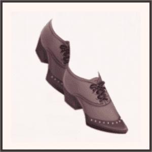 レトロな靴紐