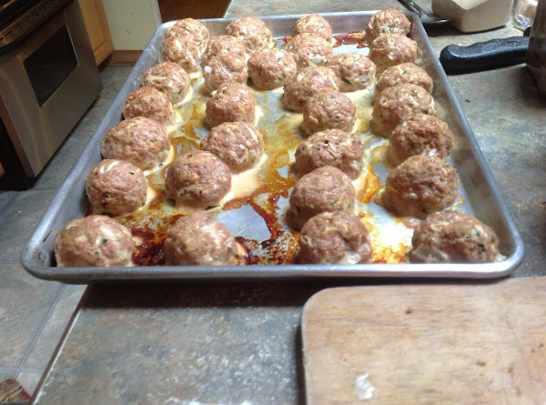 If you make the meat balls average size which would be about half the...