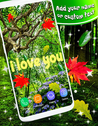 Download Autumn Summer Leaves Parallax 3d 🍁 Live Wallpaper