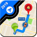GPS Route Finder : Directions and Maps Navigation icon