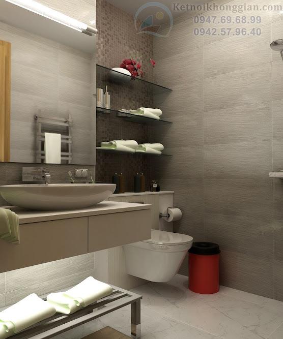 thiết kế phòng tắm, thiết kế phòng ngủ chung cư đẹp