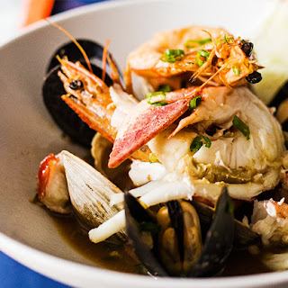 Dashi-Braised Shellfish Stew