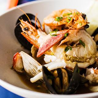 Dashi-Braised Shellfish Stew