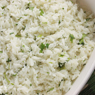 Chipotle's Cilantro Lime Rice.