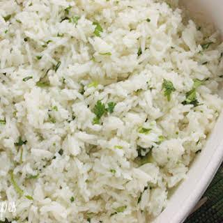 Chipotle's Cilantro Lime Rice.