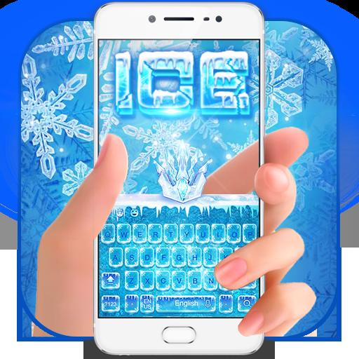 ice snow keyboard