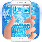 Ice Snow Keyboard Theme