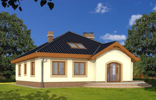 projekt Groszek bez garażu