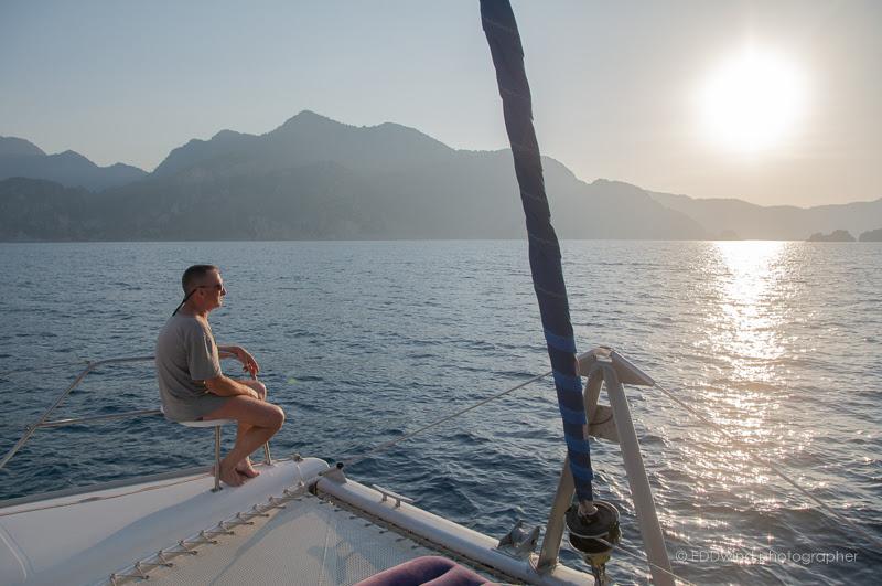 2019. Хочу на яхту! Поход на круизном парусном катамаране. На стыке морей, Эгейского и Средиземного! E6Am6u