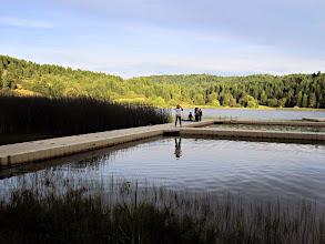 Photo: Quiet lake at dusk