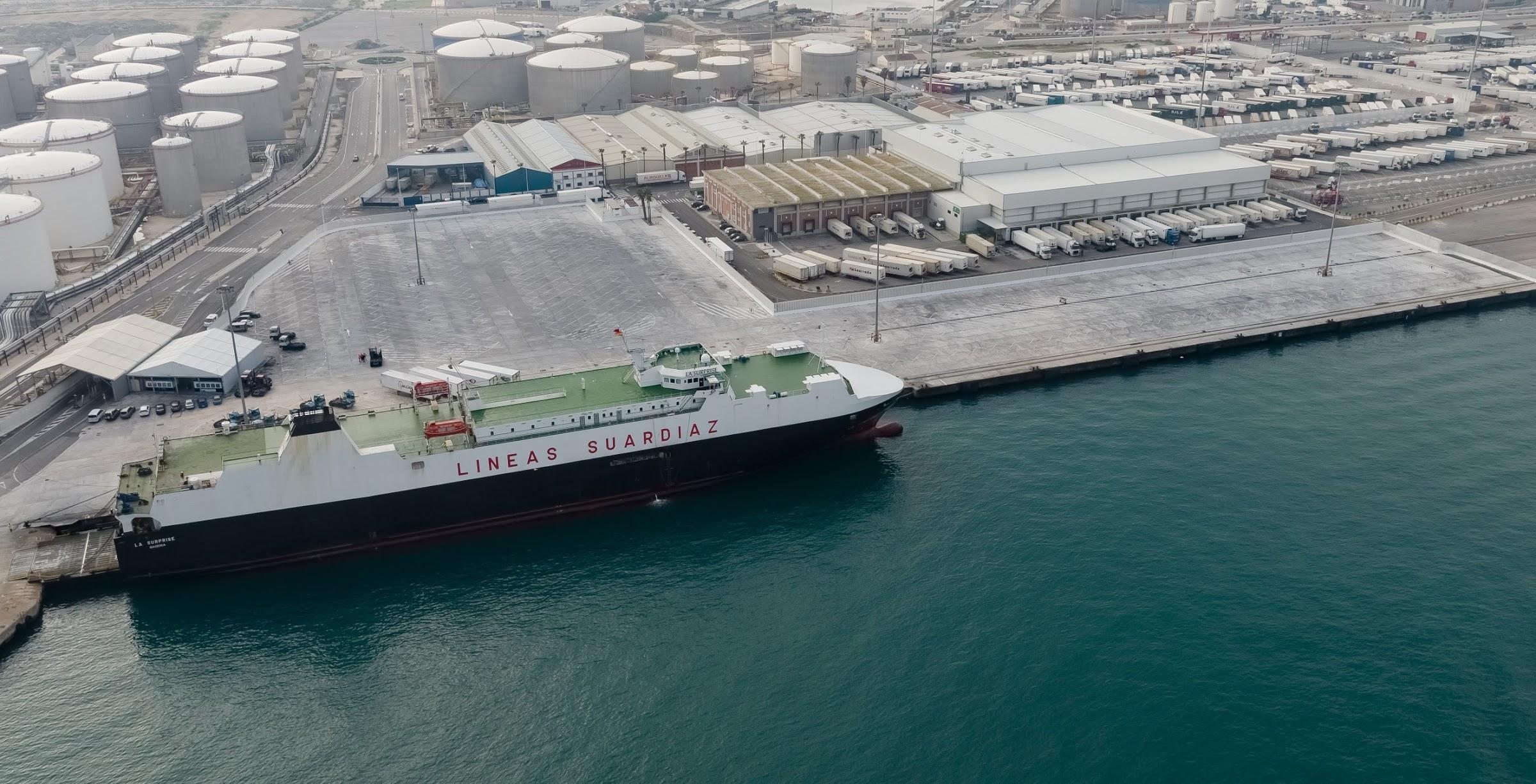 El Puerto de Algeciras estrena ampliación de la Terminal Ro-Ro