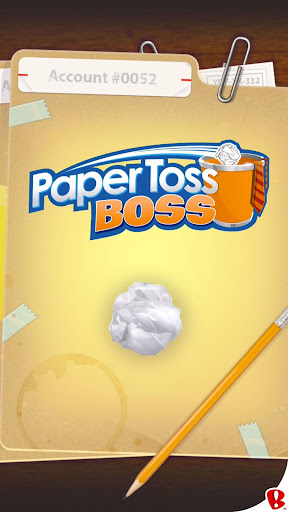 Paper Toss Boss Screenshot