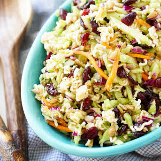 Ramen Noodle Coleslaw With Apple Cider Vinegar Recipes.