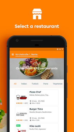 Lieferando.de - Order Food  screenshots 2