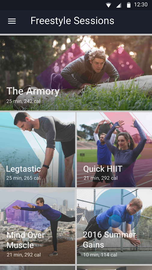Fitstar Personal Trainer- screenshot