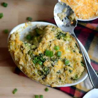 Broccoli, Cheese, n' Quinoa Casserole.