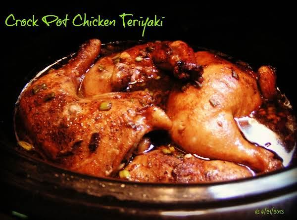 Crock Pot Chicken Teriyaki Recipe