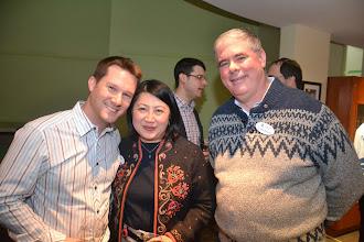 Photo: Jason Alexander, Lan Chi Nguyen Weekes and Don Weekes