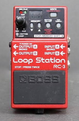 Boss RC-3 USED. Good condition. No box no PSU.