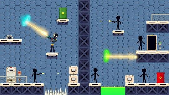 Stickman Shooting: Free offline 2D shooting games 10