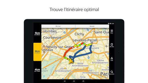 Yandex.Navi - Île-de-France screenshot 5