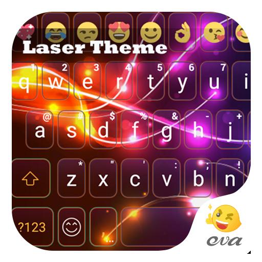 Laser Eva Emoji Keyboard -Gifs 遊戲 App LOGO-硬是要APP