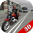 Russian Moto Traffic Rider 3D