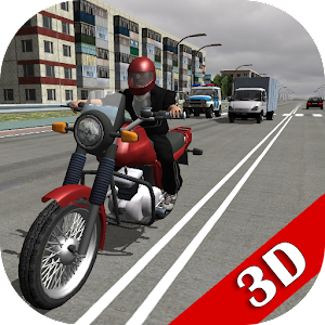 Russian Moto Traffic Rider 3D for PC and MAC
