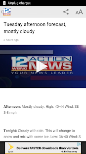 WBNG TV Binghamton- screenshot thumbnail