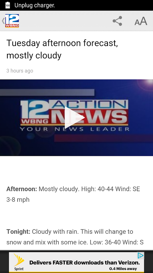WBNG TV Binghamton- screenshot