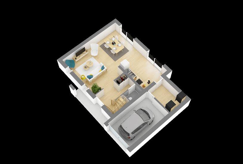 Vente Terrain + Maison - Terrain : 620m² - Maison : 86m² à Coutances (50200)