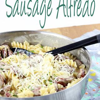 Sausage Alfredo.