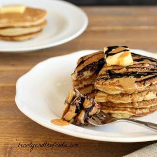 Choco Nutty Tiger Pancakes