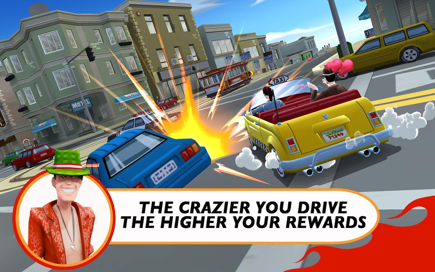 Crazy Taxi™ City Rush- screenshot