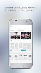 NZZ E-Paper screenshot 2
