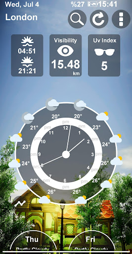 Animated 3D Weather 4.2.0 screenshots 3