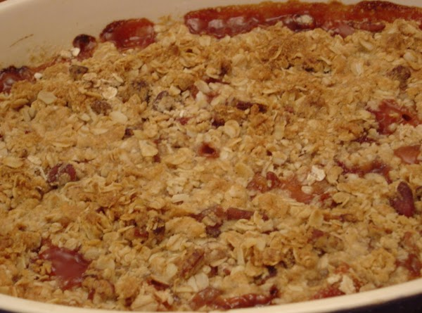 Bake for 45 minutes or until topping is crunchy and peaches are bubbly.Nutritional Info:...