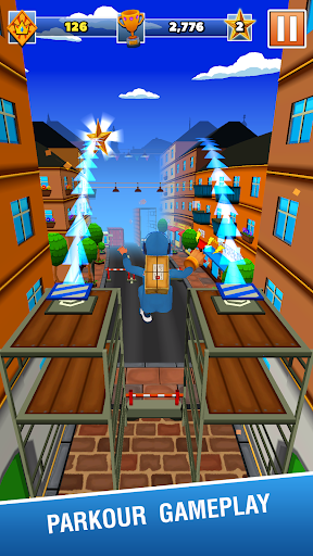 Grandpau2019s Parcel Rangers - 3D Running Game apkdebit screenshots 1