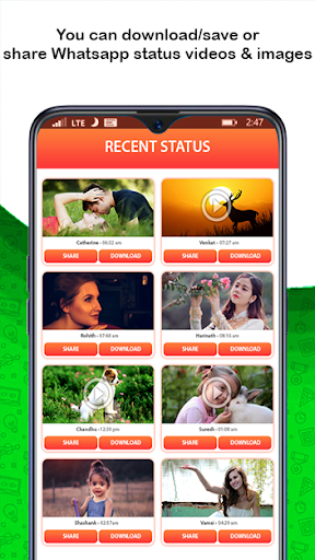 Status Saver for WhatsApp & Status Downloader 1.28 screenshots 1