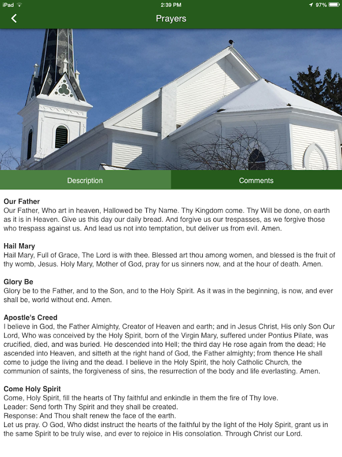 St. Patrick Catholic - Ada, MI- screenshot