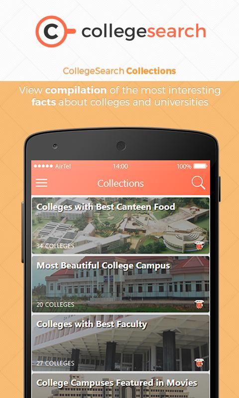 CollegeSearch Online Admission- screenshot