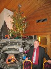 Photo: Pj. Markku Holm toivotti hauskaa pikkujoulua.