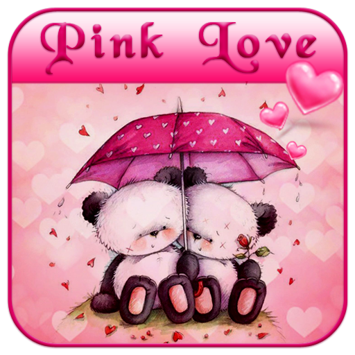 Pink Love Bear Theme