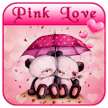 Pink Love Bear Theme download