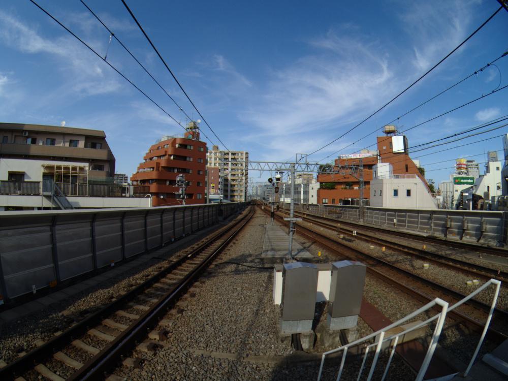 Photo: 2013/08/18 溝の口駅から二子玉川駅方向