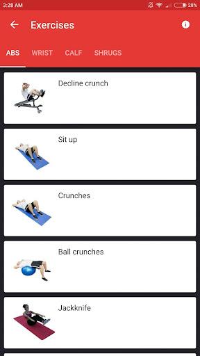 SmartFit - Gym Personal Trainer, Strength training  screenshots 6