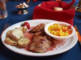 Pork Medallions With Mirasol And Cherry Cream Sauce Recipe