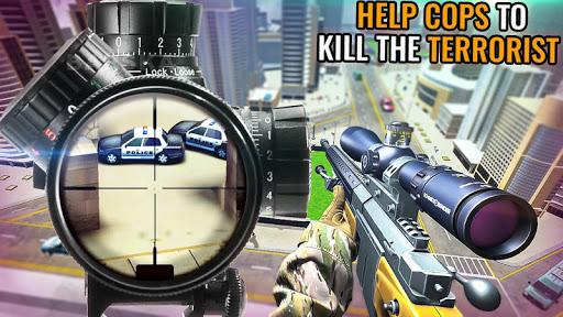 Code Triche Modern Sniper Assassin 3d: Nouveau jeu de tir de APK MOD screenshots 6